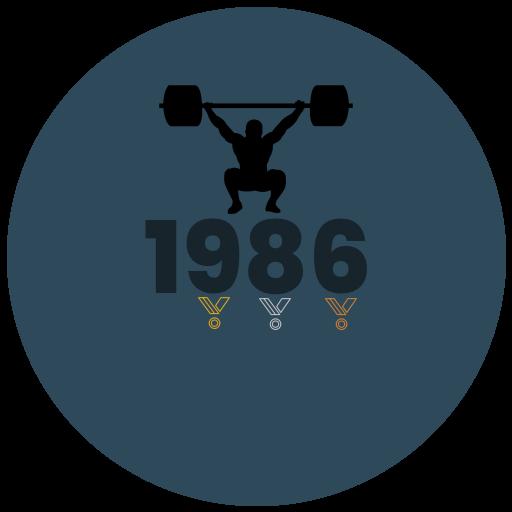 Výsledky roku 1986