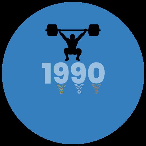Výsledky roku 1990