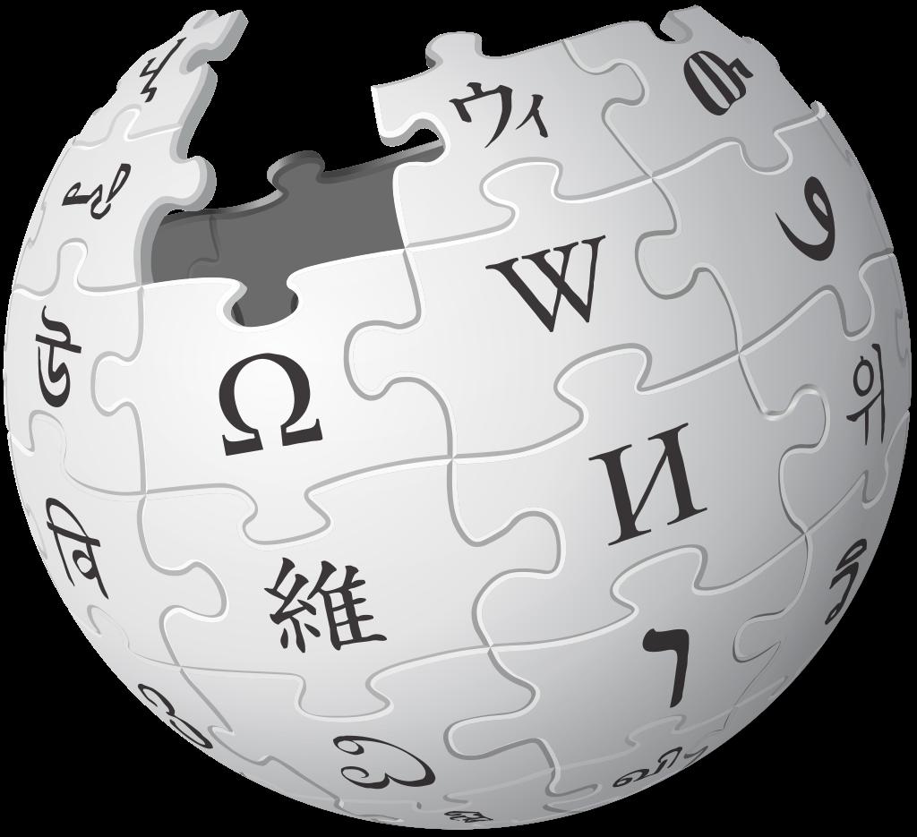 Wikipedia logo vzpírání